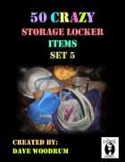 50 Crazy Storage Locker Items, Set 5