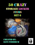 50 Crazy Storage Locker Items, Set 6