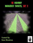50 Highway Marauder Targets, Set 2
