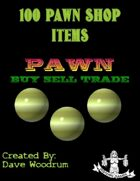 100 Pawn Shop Items