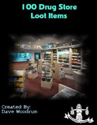 100 Drug Store Loot Items