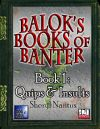 Balok's Book of Banter - Quips & Insults