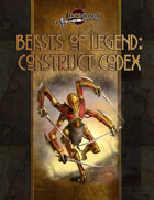 Beasts of Legend: Construct Codex (5E)