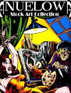 NUELOW Stock Art Collection:  Horror [BUNDLE]