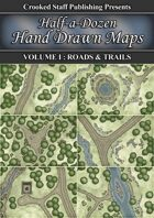 Half-a-dozen Hand Drawn Maps (vol.1)