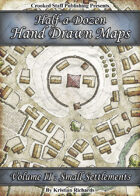Half-a-dozen Hand Drawn Maps (vol.2)