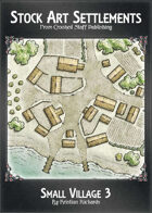 Stock Art Settlements - Small Village 3