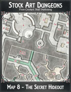Stock Art Dungeons - Map 8 - The Secret Hideout