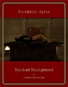 Sacrifical Altar : Stockart Background