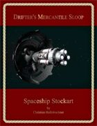 Drifter's Mercantile Sloop : Spaceship Stockart