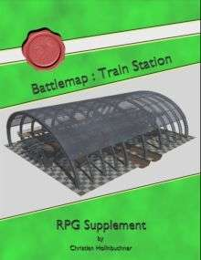 Battlemap : Train Station on RPGNow.com