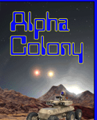 ALPHA COLONY Boardgame - Rule Sheet