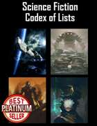 Science Fiction Codex of Lists