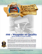 (5E) Expanded Options #04 - Items of Quality - Weapons