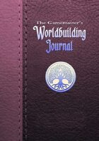 The Gamemaster's Worldbuilding Journal