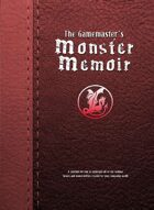 The Gamemaster's Monster Memoir