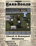 Hard Boiled - Church & Graveyard Miniatures