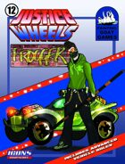 Justice Wheels #12 Frogger [ICONS]