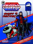 Justice Wheels #14 Night Hunter [ICONS]