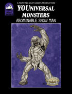 [Savage Worlds] Abominable Snow Man