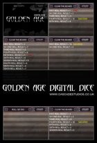 GOLDEN AGE Digital Dice