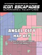 Icon Escapade 00: Angel City Map Key