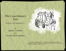 Toys for the Sandbox 07: Coachman's Inn on RPGNow.com