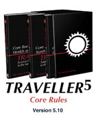 T5 Traveller5 Core Rules Book (759 pages)
