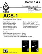 CT-F ACS-1 FASA Adventure Class Ships, Volume 1- For Traveller