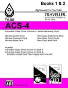 CT-F ACS-4 FASA Adventure Class Ships, Volume 4- For Traveller