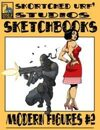Skortched Urf' Studios Sketchbook: Modern figures #2