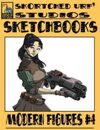 Skortched Urf' Studios Sketchbook: Modern figures #4