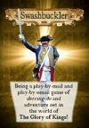 Swashbuckler PBM/PBEM fast play roleplaying game