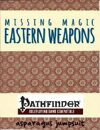 Eastern Weapons for the Pathfinder Roleplaying Game
