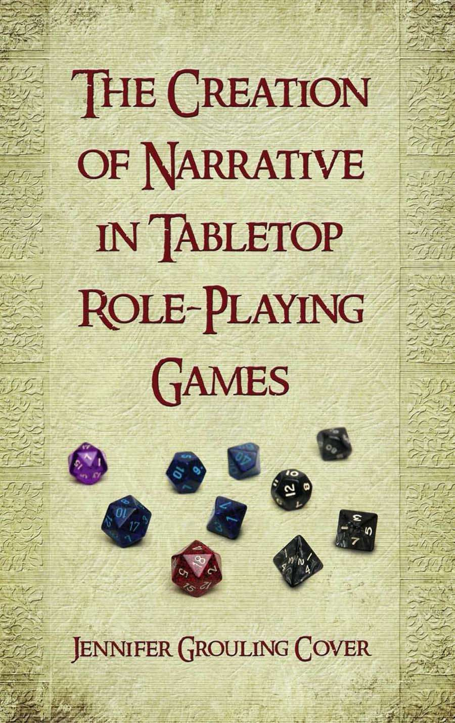 The Creation of Narrative in Tabletop Role-Playing Games on Flames Rising PDF Store