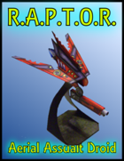 RAPTOR Aerial Assualt Droid - Paper Model