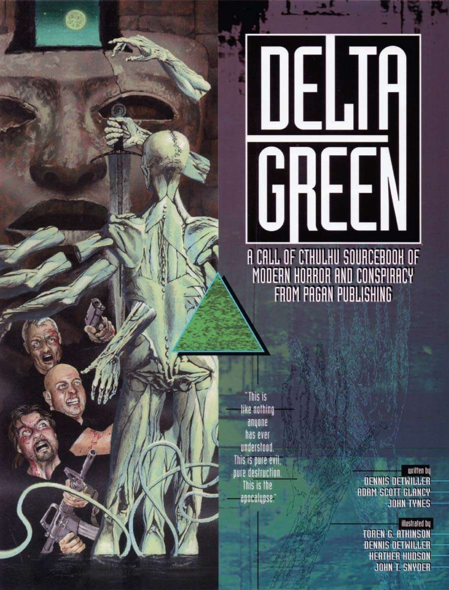 Delta Green RPG arrives in PDF and Print on Demand