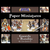 Battle! Studio Paper Miniatures: Guards & Bandits
