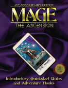 Mage: The Ascension 20th Anniversary Edition Quickstart