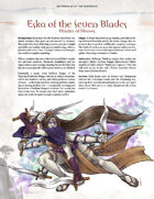 Adversaries of the Righteous: Eska of the Seven Blades