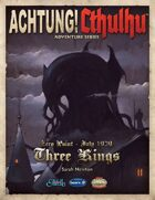 Achtung! Cthulhu: Three Kings - Revised Edition