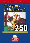 Dragons & Monsters: Set 1 - 2.5D Dragon