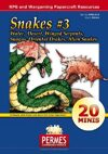 Fantasy and Sci-Fi Creatures:  Snakes Set #3