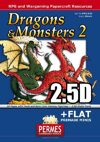 Dragons & Monsters Set 2:  2x2.5D Dragon