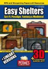 Easy 3D Shelters, Props, Accessories and Linearts