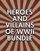 Heroes and Villains of WWII Starter Pack [BUNDLE]
