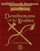 FOR12 Demihumans of the Realms (2e)
