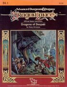 DL1 Dragons of Despair (1e)