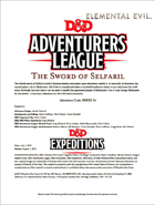 DDEX2-14 The Sword of Selfaril (5e)