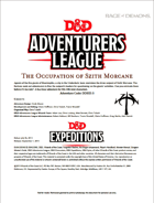 DDEX3-03 The Occupation of Szith Morcane (5e)